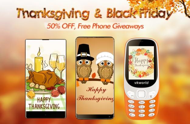 vkworld на День благодарения и Черную пятницу предлагает S8 с Face Unlock за $89.99