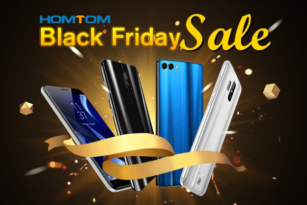 Скидки на HOMTOM в Черную Пятницу: смартфоны ТОП-уровня по самой низкой цене!