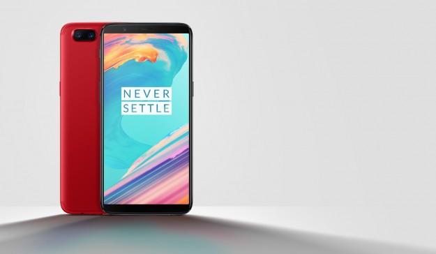 OnePlus 5T вышел в красном цвете в Китае