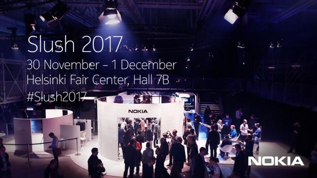 Nokia едет на Slush 2017 и обещает показать смартфоны