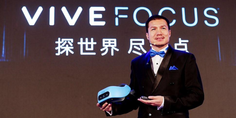 HTC представила шлем виртуальной реальности Vive Focus без проводов