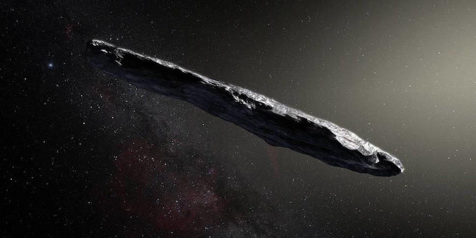 Нашим первым гостем из межзвездного пространства оказался сигарообразный объект 1I/Оумуамуа