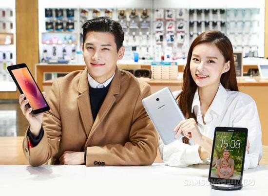 Samsung представила новый планшет Galaxy Tab A с Bixby Home