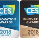 Samsung получила 36 премий CES 2018 Innovation Awards