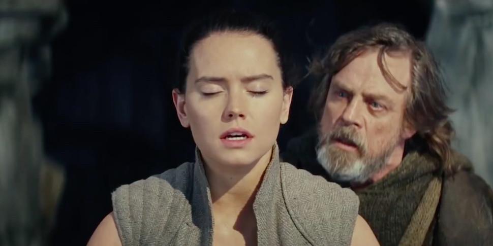 Люк Скайуокер искушает Рэй в новом трейлере «Звездных войн»