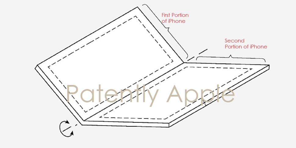 Apple запатентовала гнущийся экран
