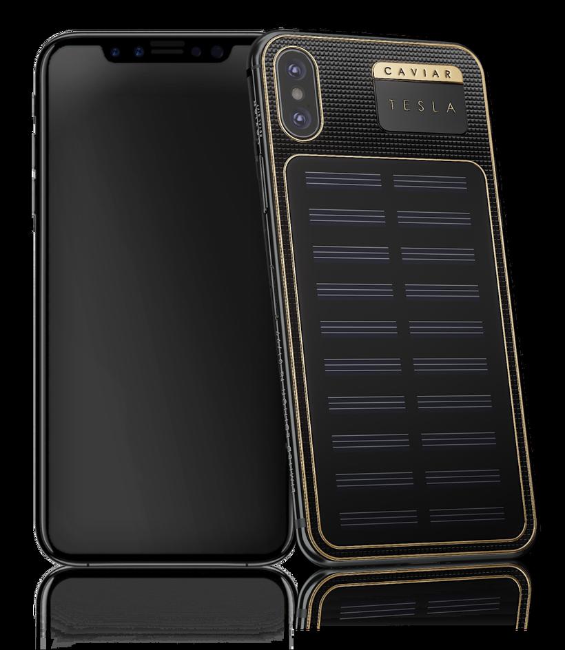 Бренд Caviar анонсировал iPhone X Tesla с зарядкой от света за 00
