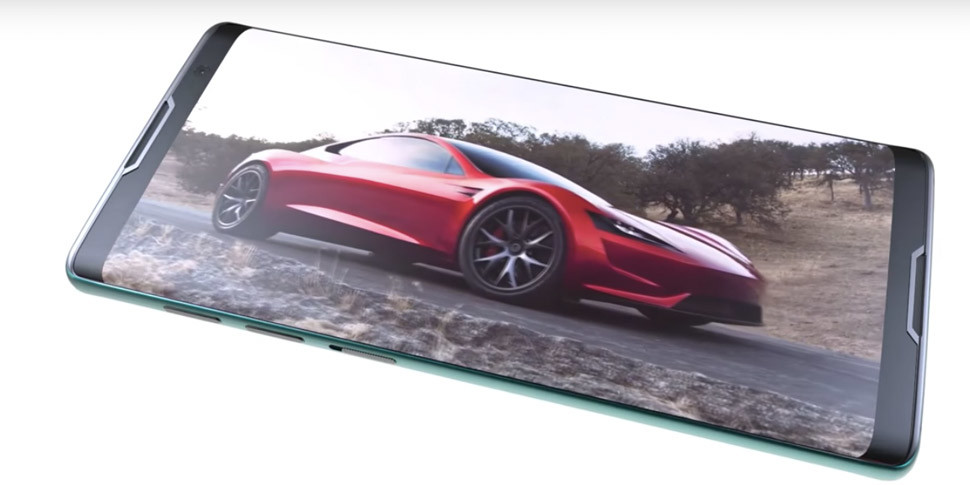 Дизайнер показал концепт смартфона Tesla