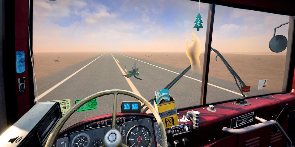 Игра о восьмичасовой поездке по прямой с кривым рулем вышла для VR