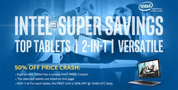 Ноябрьские скидки: низкие цены на компьютеры Teclast и CUBE
