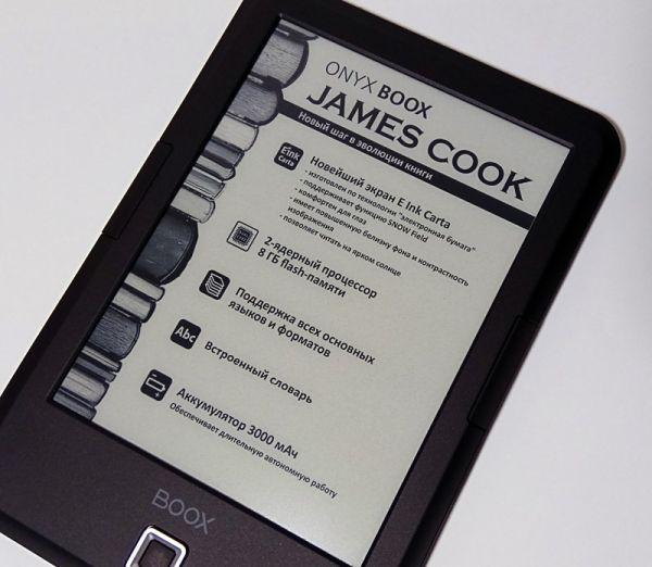 Onyx Boox James Cook