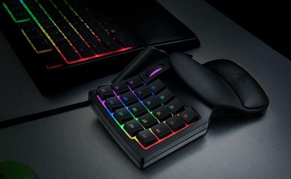 Кейпад Razer Tartarus V2 наделен 32 программируемыми клавишами