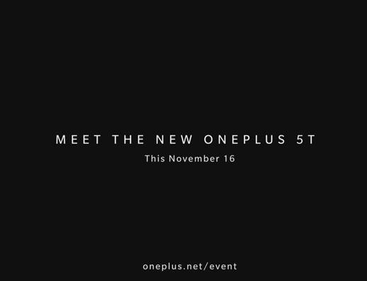 Подтверждены дата анонса и название смартфона OnePlus 5T