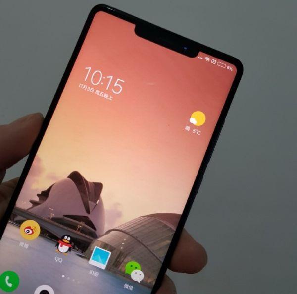 Монобровь заразна: смартфон Xiaomi Mi Mix 2s заразился от iPhone X