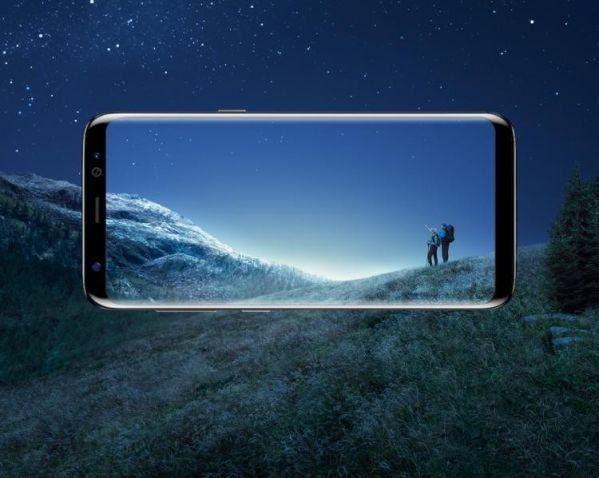 Samsung выпустит компактный смартфон без рамок