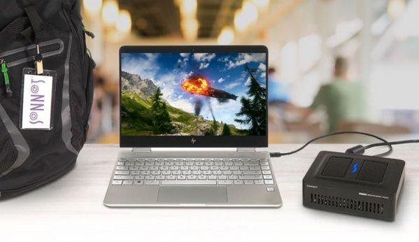 Внешний видеоадаптер Sonnet eGFX Breakaway Puck исполнен в компактном корпусе