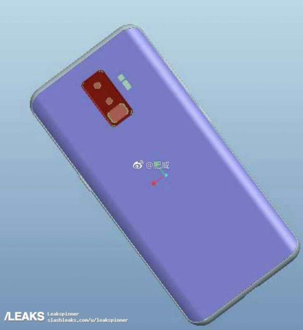 В сеть уплыл первый рендер смартфона Samsung Galaxy S9