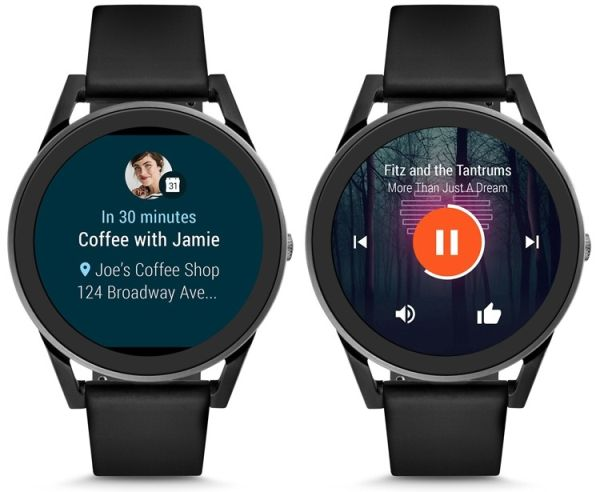 Умные часы Fossil Q Control  работают на Android Wear 2.0