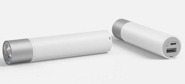 Xiaomi MiJia Portable Flashlight – фонарик и зарядное устройство в одном