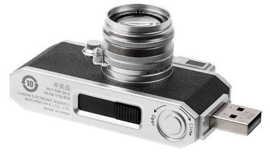 Canon выпустил самый компактный фотоаппарат в мире (нет)
