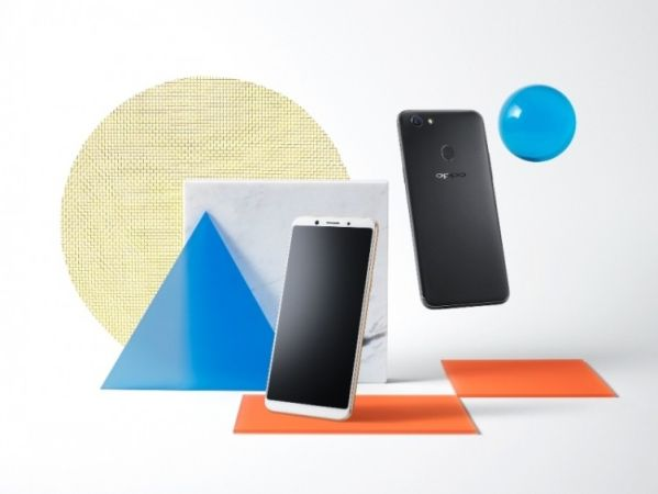 OPPO F5 – смартфон для селфи уже в России