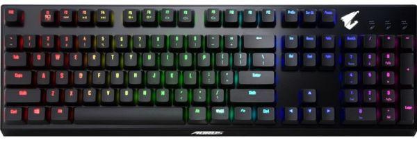 В клавиатуру GIGABYTE Aorus K9 Optical встроили подсветку