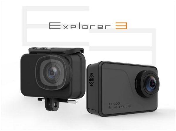 Экшен-камера MGCool Explorer 3 пишет видео в формате 4К