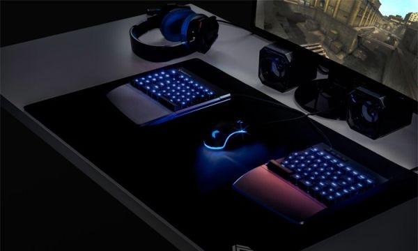 Клавиатуру Kinesis Freestyle Edge разделили на две части