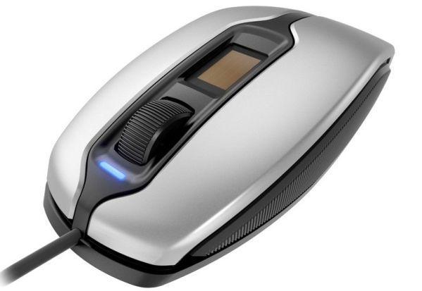 В мышку Cherry MC 4900 встроили сканер отпечатков пальцев