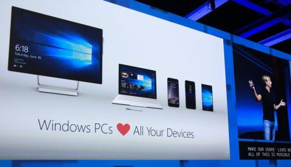 ОС Windows 10 продолжает захватывать мир