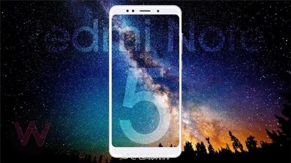 Изображения Xiaomi Redmi Note 5 появились до премьеры смартфона