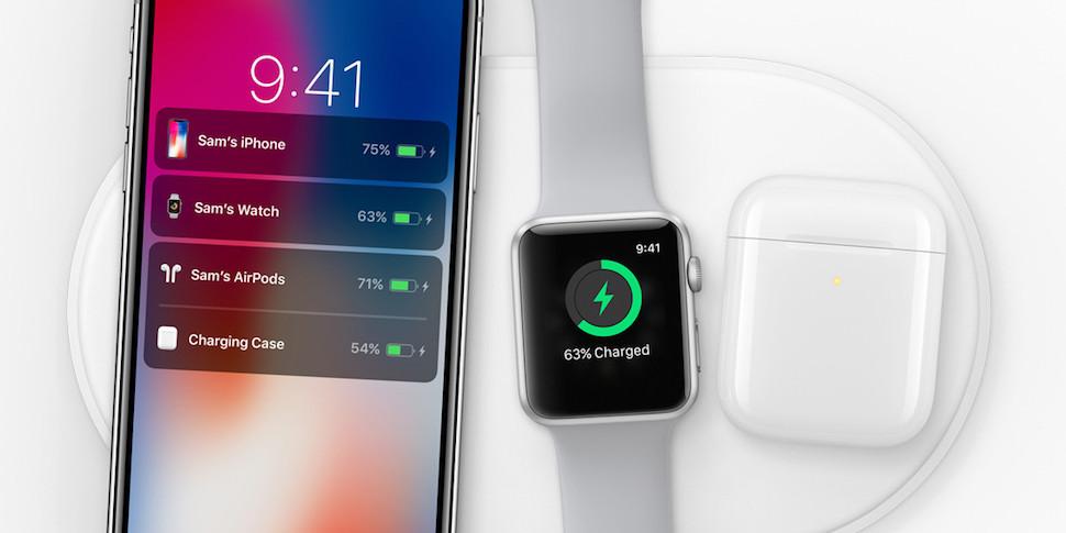 iPhone 8 и iPhone X смогут быстрее заряжаться без проводов с появлением iOS 11.2