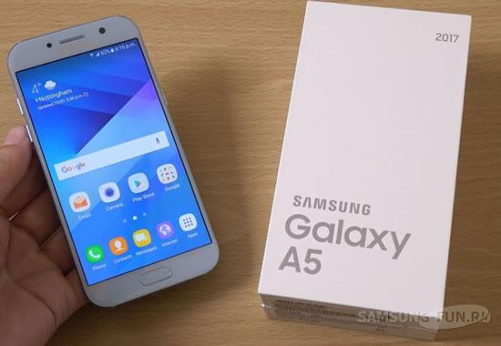 """Samsung Galaxy A5 получит """"бесконечный"""" Infinity Display"""