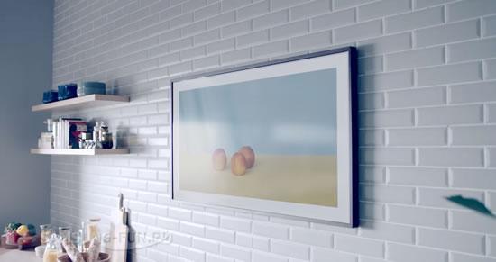 Samsung начинает продажу 43-дюймового телевизора с рамкой