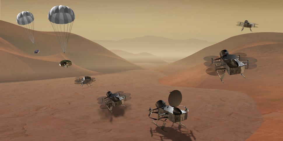 NASA выберет между миссиями на Титан и к комете Чурюмова — Герасименко