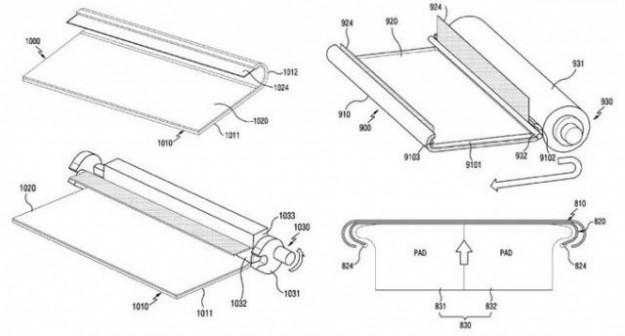 Samsung запатентовала смартфон, края дисплея которого изогнуты еще сильнее, чем у нынешних флагманов