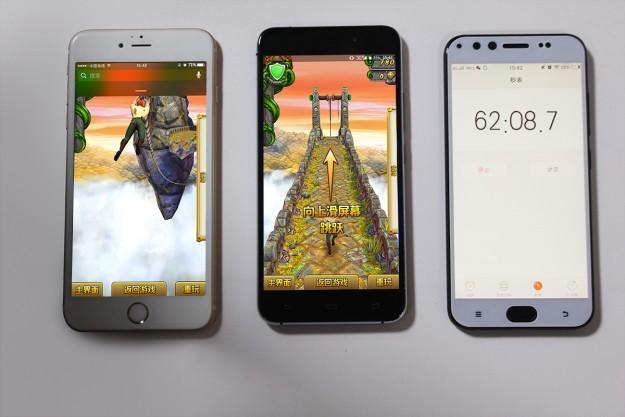 Сравнение расхода батареи AllCall Madrid и iPhone 6S Plus
