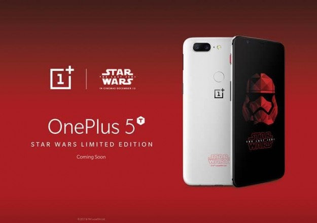 OnePlus представила OnePlus 5T Star Wars Edition на Comic Con