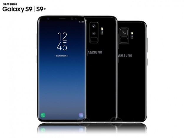 Реалистичный концепт Samsung Galaxy S9 и S9+