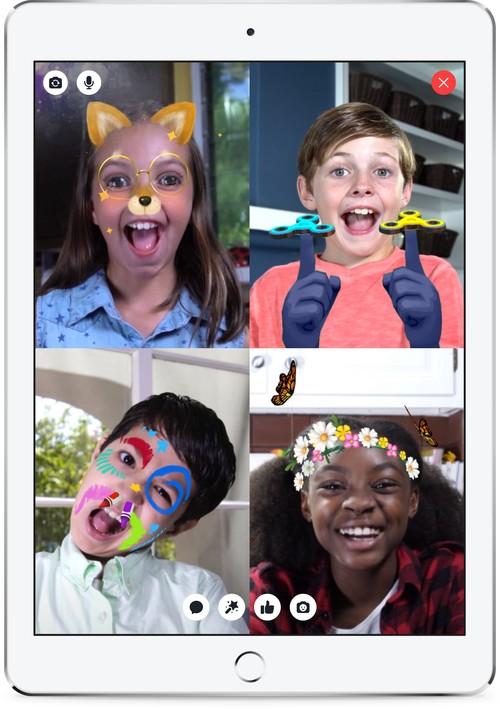 Facebook запустил детский Messenger