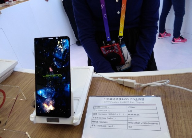 Компания LEAGOO планирует первой в мире выпустить смартфон с изогнутым дисплеем 18: 9!