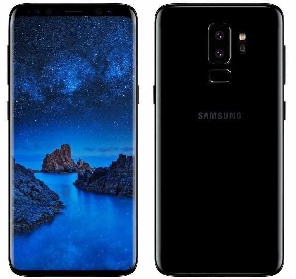 Дактилоскоп в Samsung S9 расположат в нужном месте