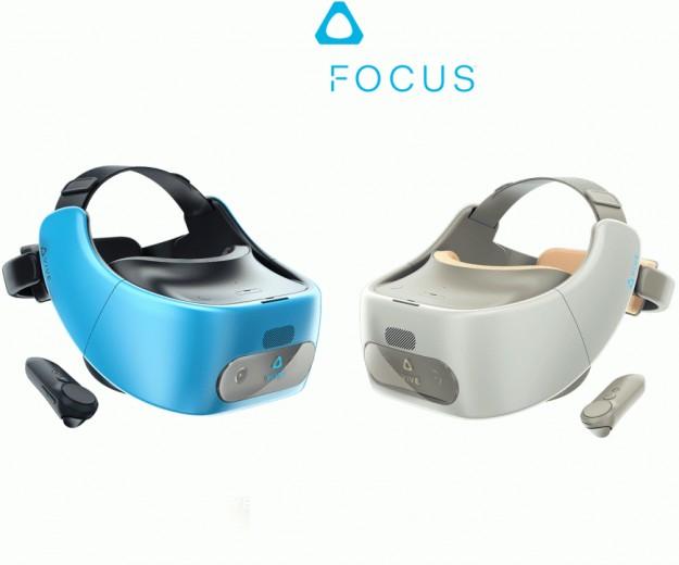 HTC выпускает автономный шлем виртуальной реальности Vive Focus