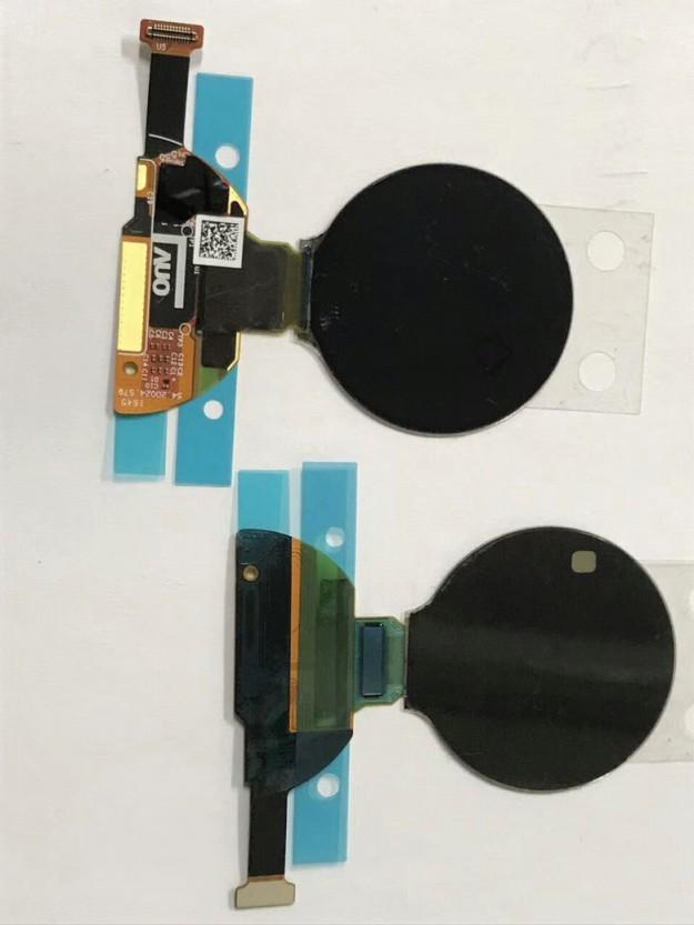 Новый круглый дисплей AUO типа AMOLED предназначен для умных часов