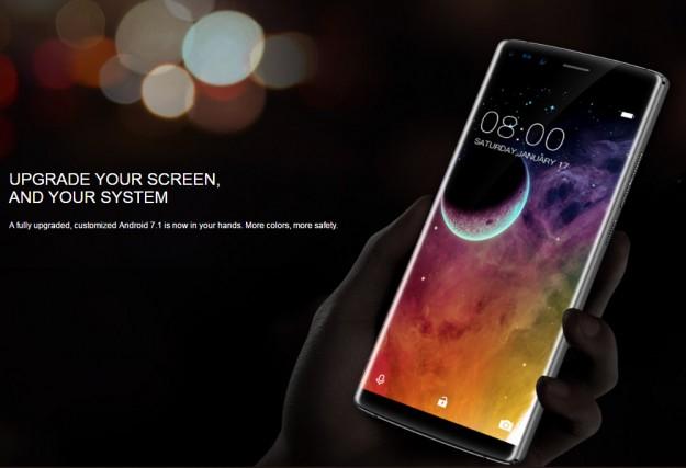 Показана окончательная внешность полноэкранного смартфона Era от DOOGEE