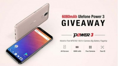 Новинка: Ulefone Power 3 – смартфон-батарейка на 6080 мАч