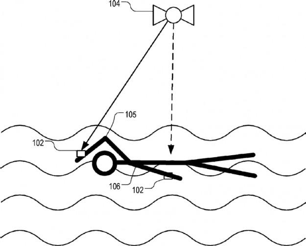 Apple патентует радионавигацию для пловцов с использованием умных часов