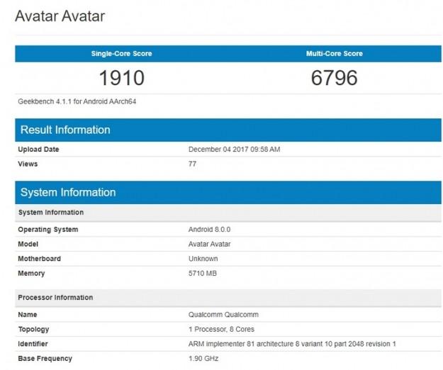 Смартфон Nokia 9 будет оснащён 6 ГБ ОЗУ и SoC Snapdragon 835