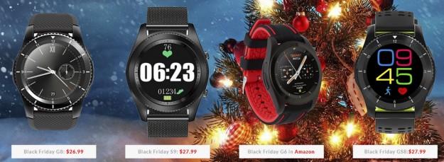 Производитель смарт часов DTNO.1 предлагает Рождественские скидки и дарит свои новинки