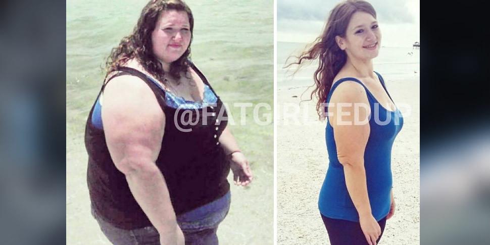 Американка показала в Instagram, как потеряла 136 килограммов за 18 месяцев